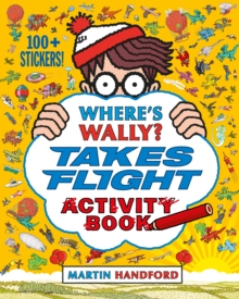 Where's Wally? Takes Flight : Activity Book, Paperback Book