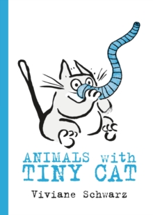 Animals with Tiny Cat, Hardback Book