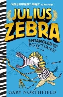 Julius Zebra: Entangled with the Egyptians!, Hardback Book