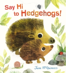 Say Hi to Hedgehogs!, Hardback Book