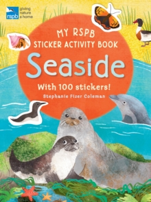 My RSPB Sticker Activity Book: Seaside, Paperback / softback Book