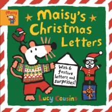 Maisy's Christmas Letters: With 6 festive letters and surprises!, Hardback Book