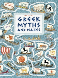 Greek Myths and Mazes, Hardback Book