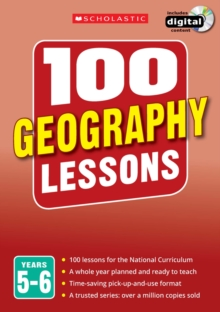 100 Geography Lessons: Years 5-6, Mixed media product Book