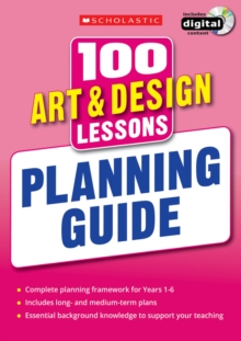 100 Art & Design Lessons: Planning Guide, Mixed media product Book