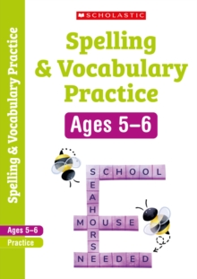 Spelling and Vocabulary Workbook (Year 1), Paperback Book