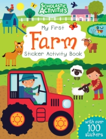 My First Farm Sticker Activity Book, Paperback Book