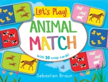 Let's Play! Animal Match, Board book Book