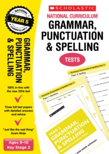 Grammar, Punctuation and Spelling Test - Year 5, Paperback Book