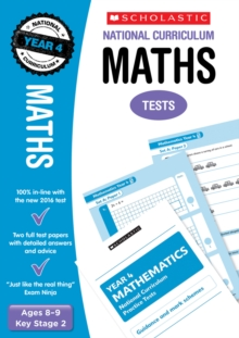 Maths Test - Year 4, Paperback Book