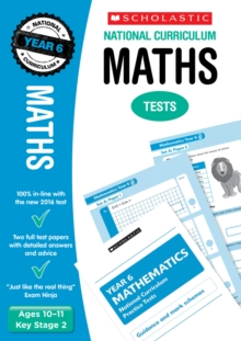 Maths Test - Year 6, Paperback Book