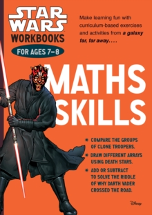 Star Wars Workbooks: Maths Skills - Ages 7-8, Paperback Book