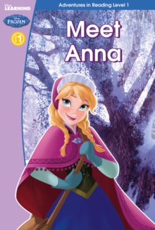 Frozen: Meet Anna (Level 2), Hardback Book