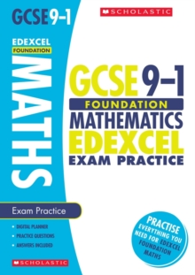 Maths Foundation Exam Practice Book for Edexcel, Paperback Book