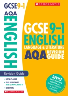 English Language and Literature Revision Guide for AQA, Paperback / softback Book