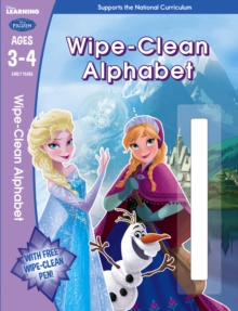 Frozen: Wipe-Clean Alphabet Ages 3-4, Paperback Book