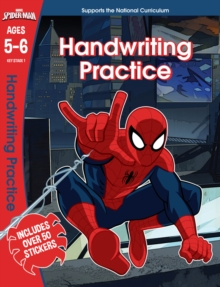 Spider-Man: Handwriting Practice, Ages 5-6, Paperback Book