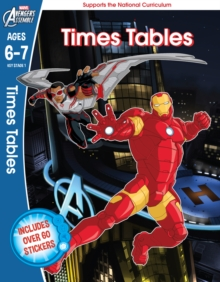 The Avengers: Times Tables, Ages 6-7, Paperback Book