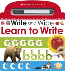 Write and Wipe: Learn to Write, Board book Book