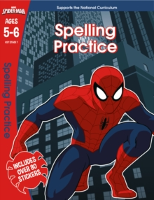 Spider-Man: Spelling Practice, Ages 5-6, Paperback Book