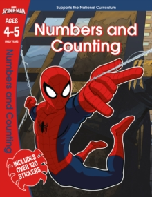 Spider-Man: Numbers and Counting, Ages 4-5, Paperback Book