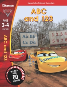 Cars 3: ABC and 123 (Ages 3-4), Paperback Book