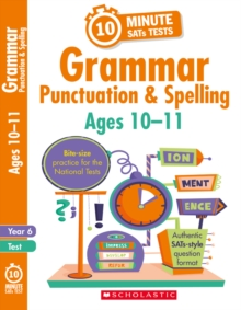 Grammar, Punctuation and Spelling - Year 6, Paperback / softback Book
