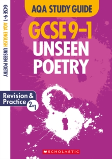 Unseen Poetry AQA English Literature, Paperback / softback Book