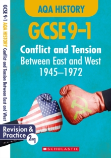 Conflict and tension between East and West, 1945-1972 (GCSE 9-1 AQA History), Paperback / softback Book