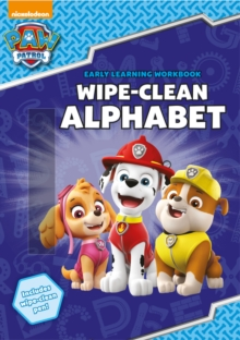 PAW Patrol: Wipe-Clean Alphabet, Paperback / softback Book