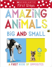 Amazing Animals Big and Small: A First Book of Opposites, Board book Book