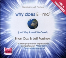 Why Does E=mc2 and Why Should We Care?, CD-Audio Book
