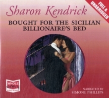 Bought for the Sicillian Billionaire's Bed, CD-Audio Book