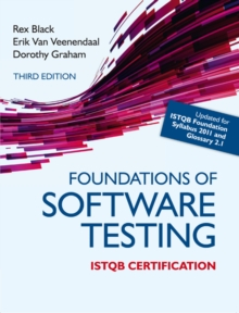 Foundations of Software Testing ISTQB Certification, Paperback Book