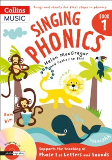 Singing Phonics, Mixed media product Book