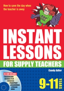 Instant Lessons for Supply Teachers 9-11, Mixed media product Book