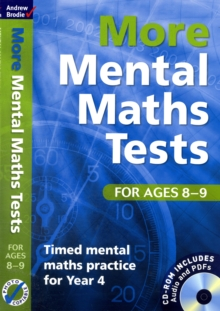 More Mental Maths Tests for Ages 8-9 : Timed Mental Maths Practice for Year 4, Mixed media product Book