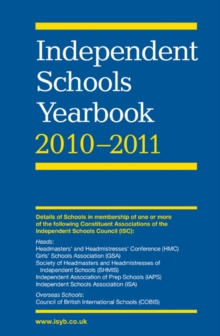 Independent Schools Yearbook, Paperback Book