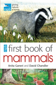 RSPB First Book Of Mammals, Paperback Book