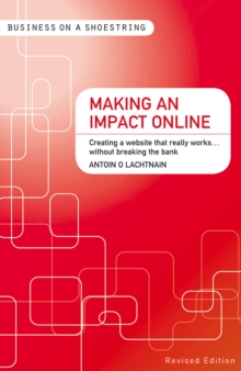Making an Impact Online : Creating a Website That Really Works...without Breaking the Bank, Paperback Book