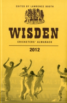 Wisden Cricketers' Almanack 2012, Hardback Book