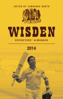 Wisden Cricketers' Almanack 2014, Hardback Book