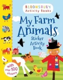 My Farm Animals Sticker Activity Book, Paperback Book