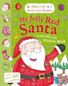 My Jolly Red Santa Activity and Sticker Book, Paperback Book