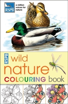 RSPB Wild Nature Colouring Book, Paperback Book