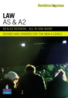Revision Express AS and A2 Law, Paperback Book