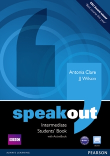 Speakout Intermediate Students book and DVD/Active Book Multi Rom Pack, Mixed media product Book