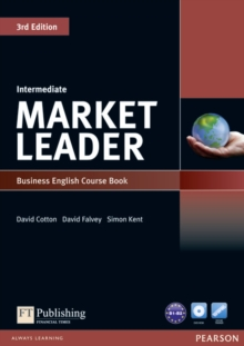 Market Leader 3rd Edition Intermediate Coursebook & DVD-Rom Pack, Mixed media product Book