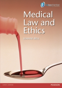 Medical Law and Ethics, Paperback Book