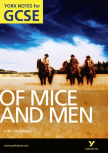 Of Mice and Men: York Notes for GCSE (Grades A*-G), Paperback Book